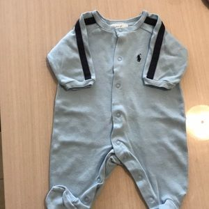 Ralph Lauren boys one piece outfit 3months